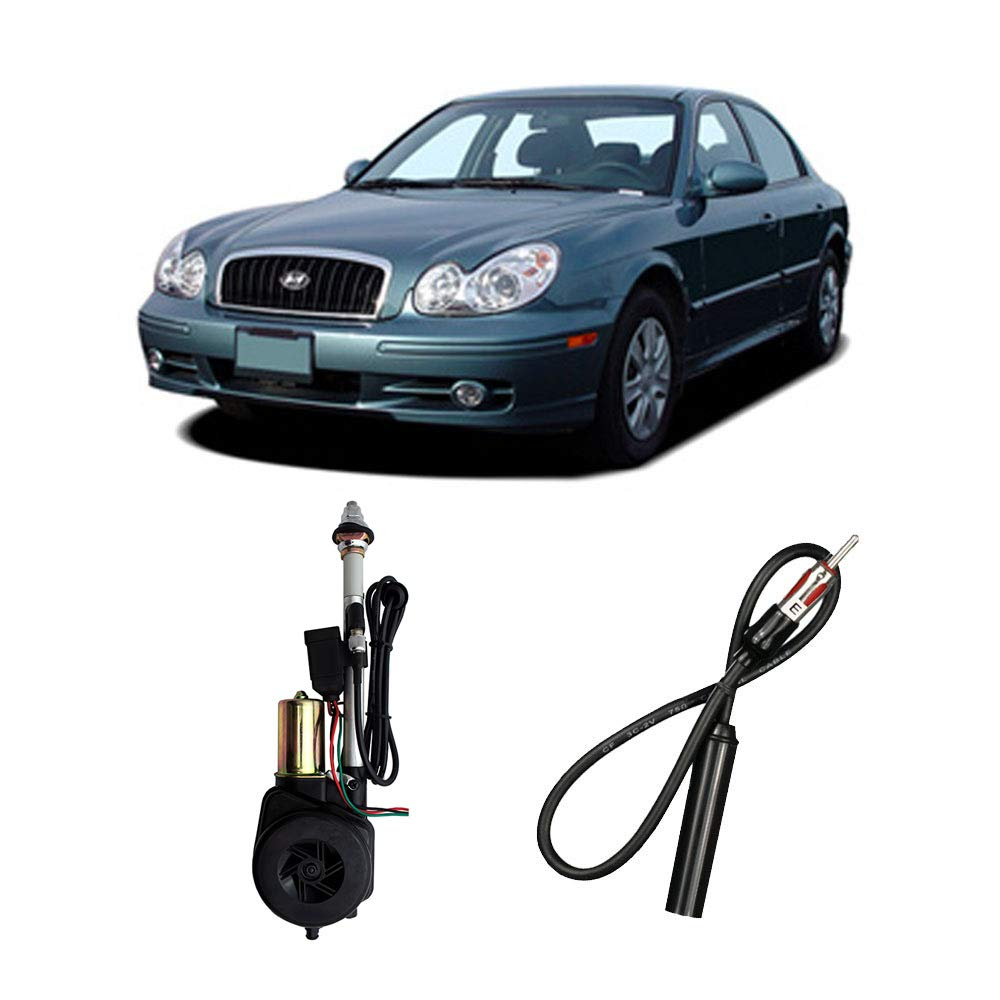 Compatible with Hyundai Sonata 1989-2005 Factory Replacement Radio Stereo Powered Antenna by Harmony Audio