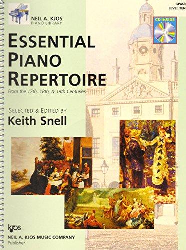 Essential Piano Repertoire - GP460 - Essential Piano Repertoire Book/CD - Level 10