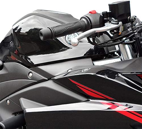 KETABAO Black MOIRE Racing CNC Bar Ends Fit Yamaha YZF R3 15 16 17 18 MT-03 15-18 R1 2006-2009 YZF R1M 2015-2018