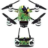 Skin for DJI Spark Mini Drone Combo - Toucan Friends| MightySkins Protective, Durable, and Unique Vinyl Decal wrap cover | Easy To Apply, Remove, and Change Styles | Made in the USA