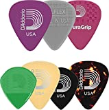 Planet Waves 1XVP6-5 Assorted Guitar Picks, Heavy, 5 Pack