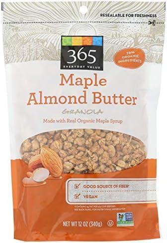 365 Everyday Value, Maple Almond Butter Granola, 12 oz