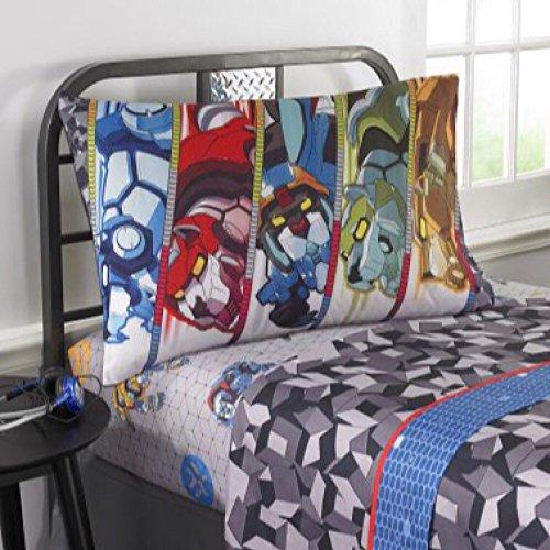 Price comparison product image DreamWorks Voltron Twin Bedding Sheet Set