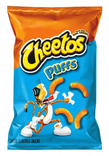 Cheetos Cheese Flavored Snacks, Jumbo Puffs, 9.5 Ounce (Pack of 4) (Calories In A Bag Of Hot Cheetos)