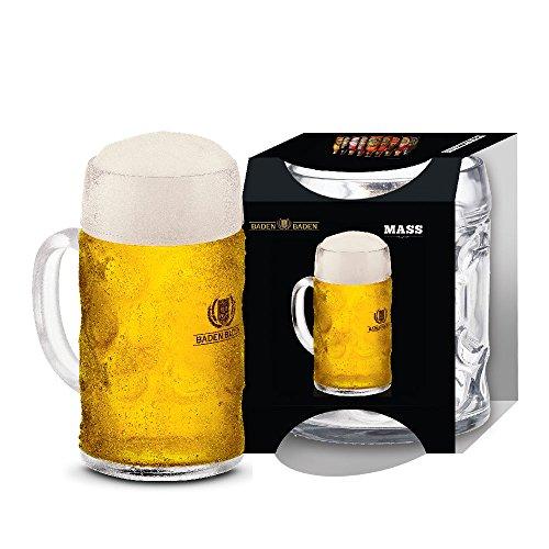 Caneca Chopp / Cerveja Vidro - Baden Baden Mass 1 Litro