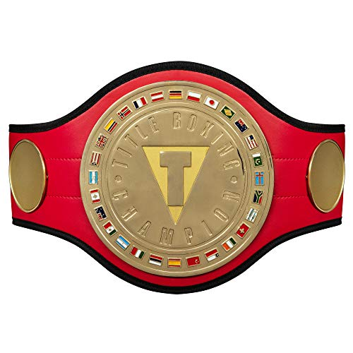 Title Boxing World Boxing Champion Title Belt, Red