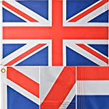 Green Grove Products British (United Kingdom) Flag 3′ x 5′ Ft 130g Premium Polyester Outdoor Union Jack