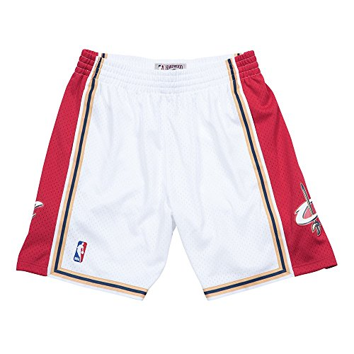 Cavaliers Swingman Shorts - Cleveland Cavaliers Mitchell & Ness White Swingman Shorts (Large)