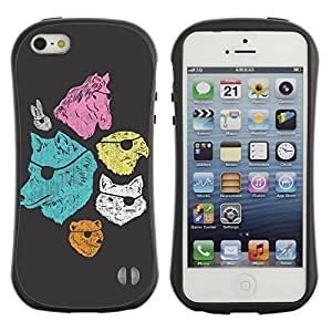 High quality Case for Apple iPhone 6 4.7 6 4.7 Cool Animals With Eyepatch