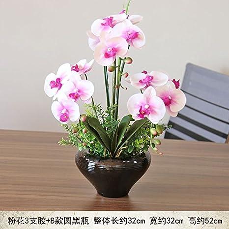 GSLOVEDC Fiore Artificiale Orchidea Phalaenopsis Decorazione ...