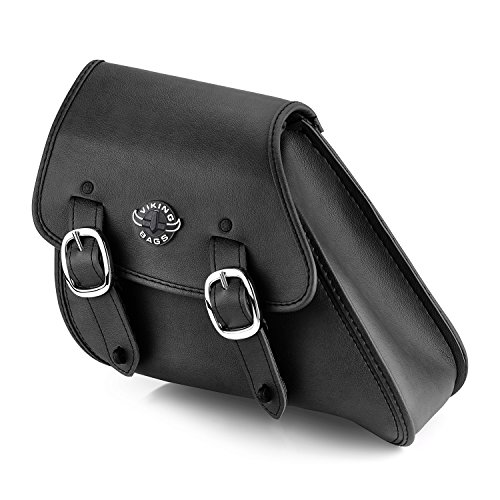 Viking Bags Dyna Motorcycle Swing Arm Bag (Black) ()