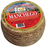 Manchego Cheese Whole Wheel - Approx 1.9 Lbs
