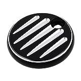 Black Fuel Door Cover Compatible with Harley