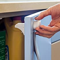 Magnetic Baby Safety Locks for Cabinets & Drawers - Baby Proof...