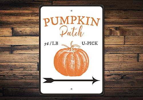 Dozili Pumpkin Patch Sign Pumpkin Patch Decor Pumpkin Decor Pumpkin Gift Pumpkin Sign Pumpkin Lover Gift Fall Sign Quality Metal 12