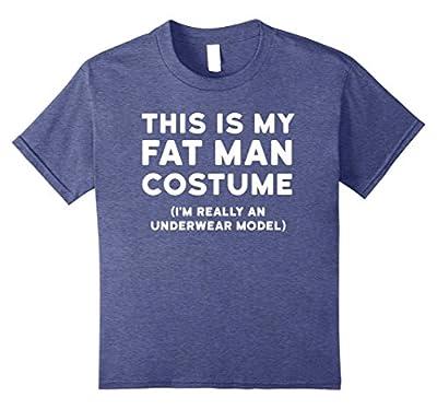 Funny Halloween Costume Shirt - Fat Man Underwear Model Tee