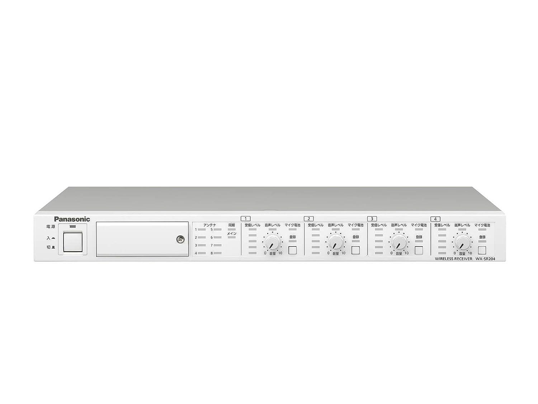 新作商品 Panasonic B07GP74WR1 WX-SR204 ワイヤレス受信機 WX-SR204 Panasonic B07GP74WR1, デコライト:531d104e --- beutycity.com