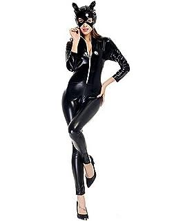 b3a32d44fcb LifeWheel - Disfraz ajustado de Catwoman para Navidad o Halloween