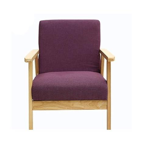 ZDAMN Solo sofá Mediados de Siglo de Madera Retro del sillón ...
