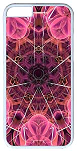 Abstract Sunset Case for iphone 6 4.7 PC Material White(Compatible with Verizon,AT&T,Sprint,T mobile,Unlocked,Internatinal)