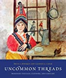 img - for Uncommon Threads: Wabanaki Textiles, Clothing, and Costume by Bruce Bourque (2009-05-11) book / textbook / text book