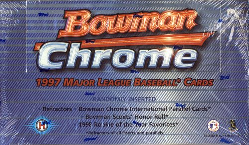 1997 Bowman Chrome Baseball Hobby Box