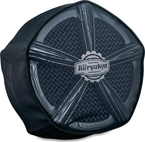 Kuryakyn 9335 Motorcycle Hypercharger Air Cleaner/Filter Component: Pre-Filter/Rain Sock for Pro-R Hypercharger Air Cleaners, Black