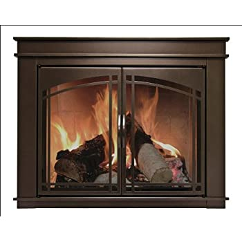 Amazon 36 Fireplace Glass Door Set To Fit Majestic Unit Home