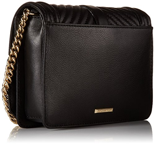 Borsa Rebecca Minkoff Chevron Quilted Small Love nera