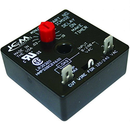 (ICM Controls ICM102 DOM Timer, 10 minutes Adjustable)