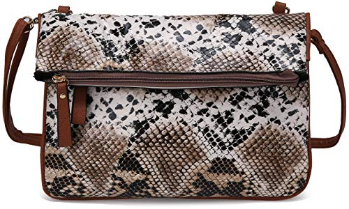 Women's Designer Purse MK CUTE Designer Organizer LV Handbags Luxury Crossbody Shoulder Ladies Small PU Leather (Snake)