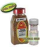 Marshalls Creek Spices (3 PACK) TACO SEASONING NO SALT