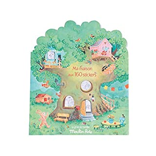 Moulin Roty La Grande Famille Sticker Book (20 Pages)