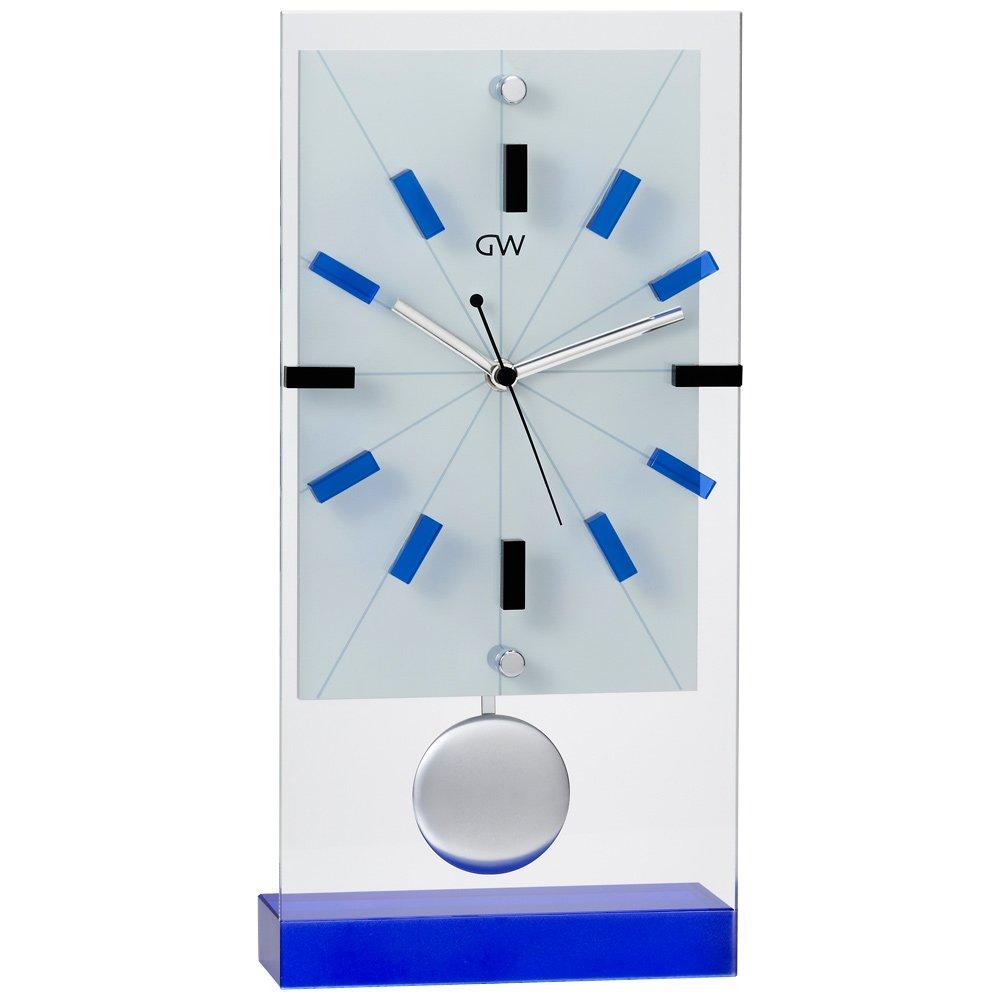 NARUMI(ナルミ) グラスワークス リンツ 振子置き時計 35cm GW1000-11075 B01DDGFIDG