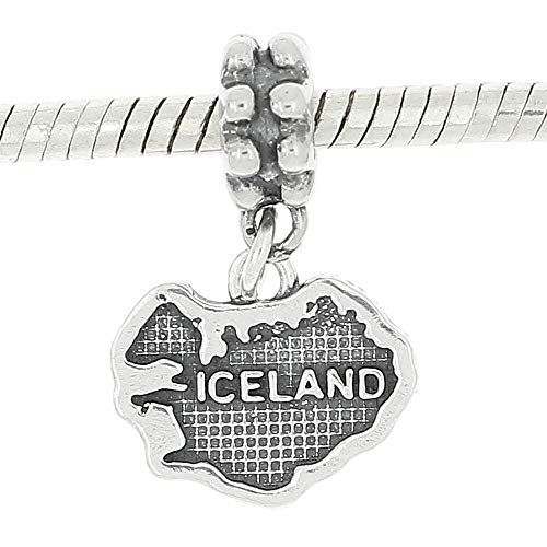 Sterling Silver Map Of...
