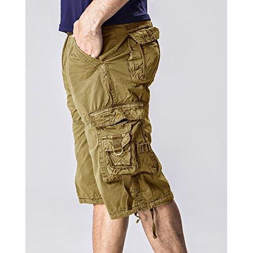 901a48fb4e 30%OFF KIWEN® Men's Casual Wear Twill Cargo Shorts(No Belt ...