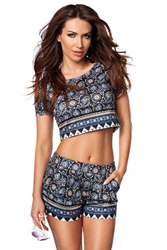 blu da Angies donna Glamour Fashion Pantaloncini wC7n8ZXOq