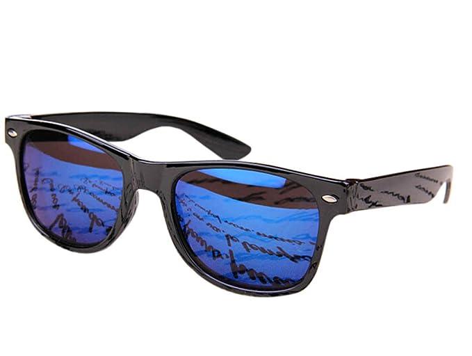 WeiMay Gafas de sol reflexivas Gafas de sol polarizadas al aire libre Gafas de sol elegantes