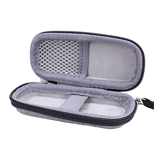 Hard Case for Finishing Touch Flawless Women's Painless Hair Remover Razor by Aenllosi (grey)