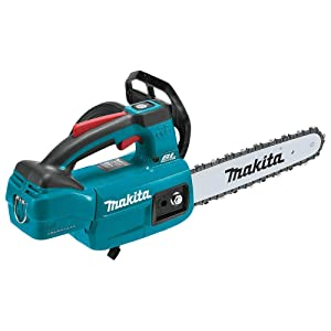 """Makita XCU06Z 18V, Tool Only LXT Lithium-Ion Brushless Cordless 10"""" Top Handle Chain Saw, Teal"""