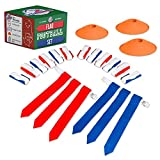 #7: Flag Football Set for Kids - Flags, Belts & Cones - Set for Either 10 or 14 People!