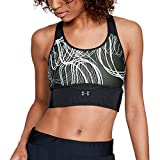 Under Armour Women`s Crossback Clutch Print Running Sports Bra
