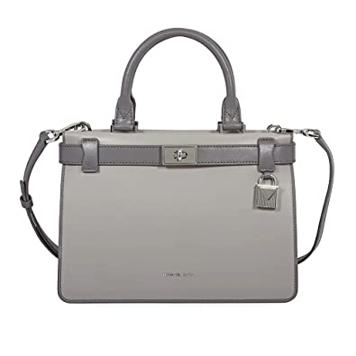 3471e492cbd3 Michael Kors Tatiana Small Satchel in Grey Multi  Handbags  Amazon.com