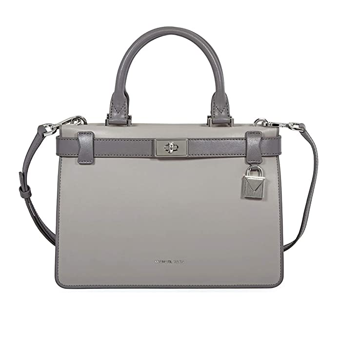 4ea1079c87df ... coupon code for michael kors tatiana small satchel in grey multi  handbags amazon 4045d 64bd8