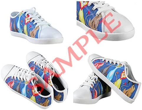 Custom Mens Fashion DIY Image Eyes Pattern New Sneaker Canvas Shoes