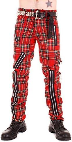 بقعة كلية سكولي Pantalones Cuadros Escoceses Punk Hombre Natural Soap Directory Org