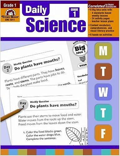 Daily Science, Grade 1: Evan Moor: 0023472050113: Amazon.com: Books