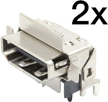 YuYue Reemplazo del Conector del Puerto HDMI 2X para Microsoft ...