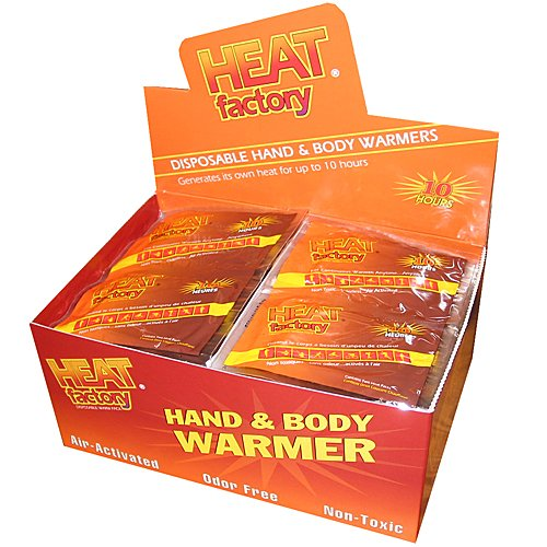 Heat Factory Premium Hand Warmers, 40 Pairs (Instant Heat Pack)
