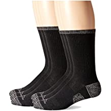 Dockers Men's Temperature Management Crew Socks, 6 Pair